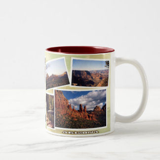 Arizona Picture Album Two Tone Mug