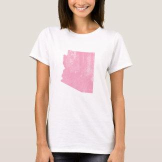 Arizona Pink Vintage Grunge T-Shirt