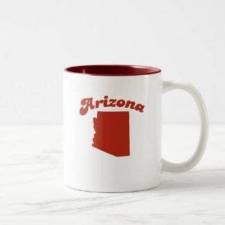ARIZONA Red State Two-Tone Mug