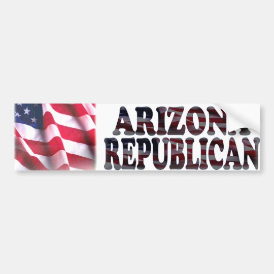 Arizona Republican Bumper Sticker