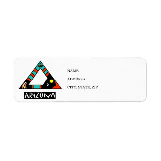 Arizona Return Address Label