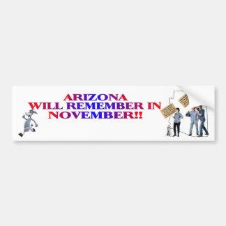 Arizona - Return Congress To The People!! Bumper Sticker
