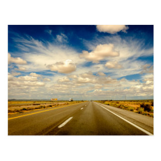 Arizona Road Trip Postcard