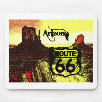 Arizona Route 66 Western Mouse Mat