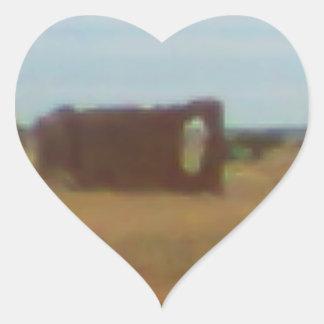 Arizona Rubble Ranch #2 Heart Sticker