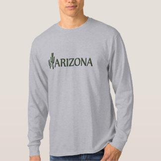 Arizona Saguaro Cactus Long Sleeve T-Shirt