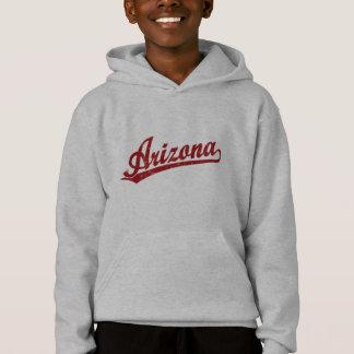 Arizona script logo in red