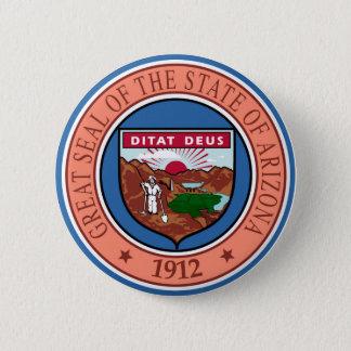 Arizona seal united states america flag symbol rep 6 cm round badge