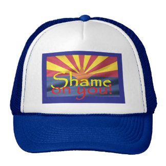 Arizona SHAME ON YOU Hat