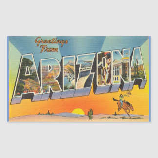 Arizona, Sheet of 4 Arizona stickers