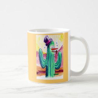 Arizona Snowman Basic White Mug