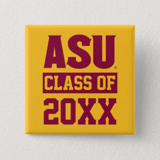 Arizona State Alumni Class Of 15 Cm Square Badge