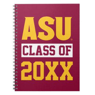 Arizona State Alumni Class Of Notebooks