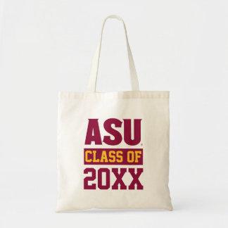 Arizona State Alumni Class Of Tote Bag