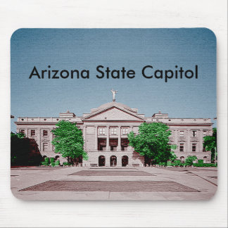 Arizona State Capitol Tinted Colorized Mouse Pad
