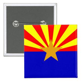 Arizona State Flag Button