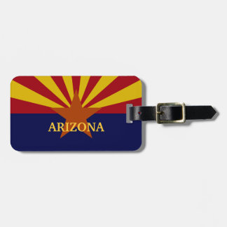 Arizona State Flag Custom Luggage Tag
