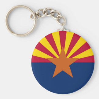 Arizona State Flag Key Ring