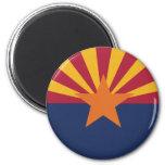 Arizona State Flag Refrigerator Magnet