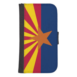 Arizona State Flag Samsung S4 Wallet Case
