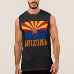 Arizona State Flag Sleeveless Shirt