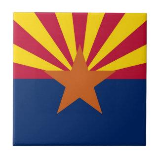 Arizona State Flag Small Square Tile