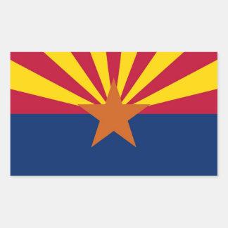 Arizona State Flag Stickers