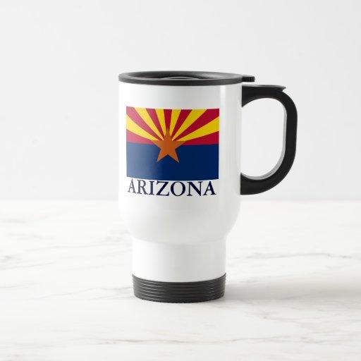 Arizona State Flag Travel Mug