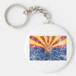 Arizona State Flag Vintage Keychains