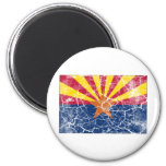 Arizona State Flag Vintage Refrigerator Magnets