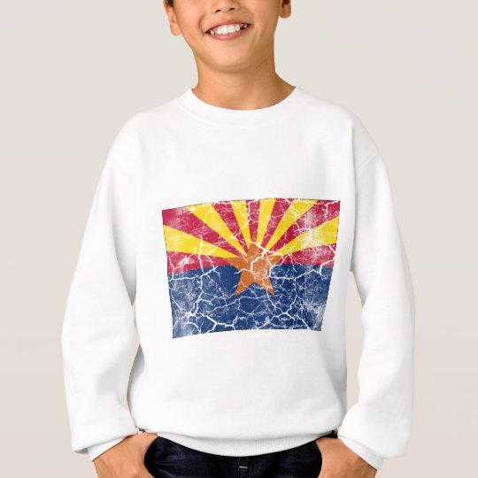Arizona State Flag Vintage Sweatshirt