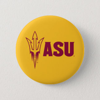 Arizona State Fork 6 Cm Round Badge