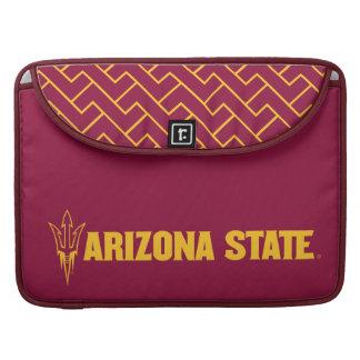 Arizona State Fork | Fret Pattern MacBook Pro Sleeve