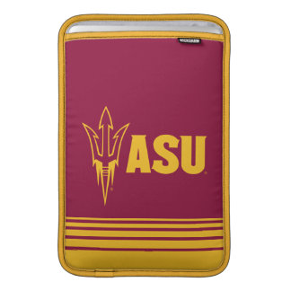 Arizona State Fork | Stripes Sleeves For MacBook Air
