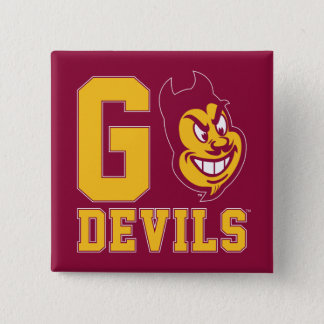 Arizona State Go Devils 15 Cm Square Badge