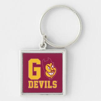 Arizona State Go Devils Key Ring
