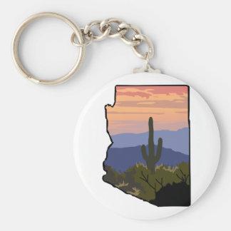 Arizona State Key Ring