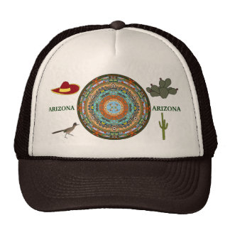Arizona State Mandala Hat 2