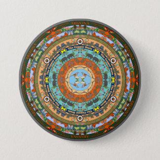 Arizona State Mandala Pin