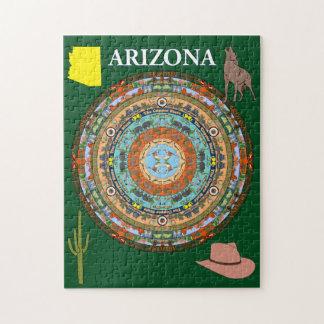 Arizona State Mandala Puzzle