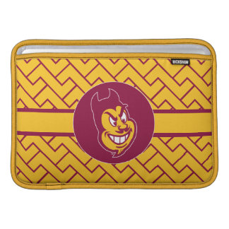 Arizona State Sparky | Fret Pattern Sleeve For MacBook Air
