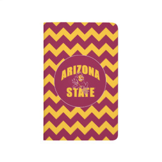Arizona State Sun Devil | Chevron Pattern Journal
