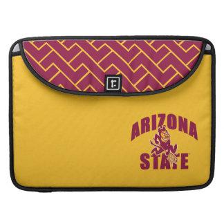 Arizona State Sun Devil | Fret Pattern MacBook Pro Sleeves