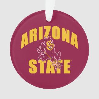 Arizona State Sun Devil Ornament