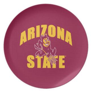 Arizona State Sun Devil Plate