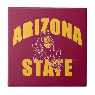 Arizona State Sun Devil Small Square Tile