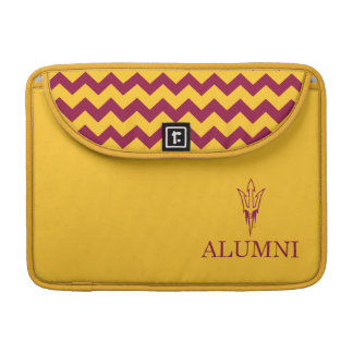 Arizona State University Alumni | Chevron Pattern Sleeve For MacBook Pro
