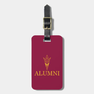 Arizona State University Alumni Luggage Tag