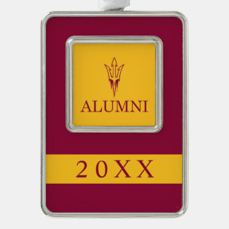 Arizona State University Alumni Silver Plated Framed Ornament