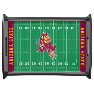 Arizona State University Football Field Serving Tray